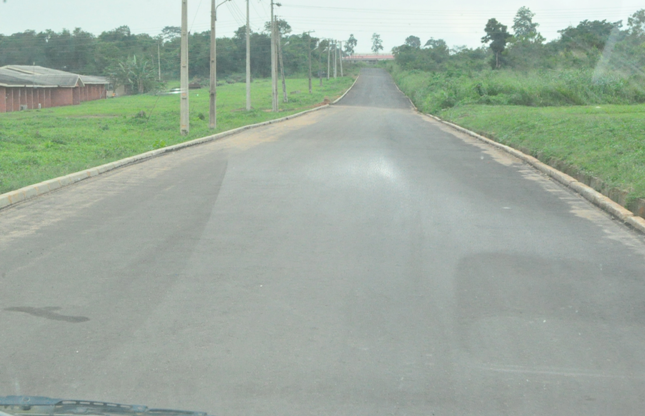 Newly-constructed Road